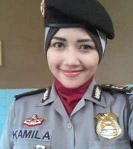AKP Fitrisia Kamila Jadi Kapolsek Perempuan Pertama di Langsa.